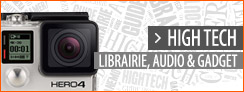 High tech, librairie, audio, gadgets