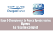 Clip final étape Almanarre du championnat de France de speed crossing