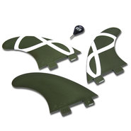 DERIVES FCS M-5 GREEN FLEX SET DE 3