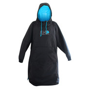 PONCHO ALL IN STORM NOIR/BLEU