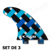 DERIVES FCS PC-5 BLUE GRAPHIC SET DE 3