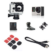 CAMERA GOPRO HERO 4+ HD SILVER EDITION