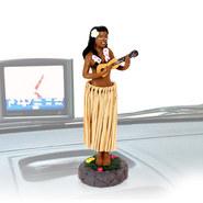 FIGURINE VOITURE HAWAIIAN HULA DASHBOARD DOLLS