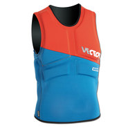 GILET ION VECTOR VEST COMP ROUGE/BLEU