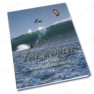 LIVRE THE KITE AND WINDSURFING GUIDE MONDE