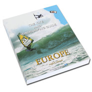 LIVRE THE KITE AND WINDSURFING GUIDE EUROPE NEW VERSION