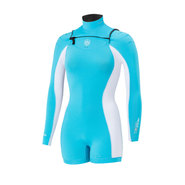 SHORTY MANERA X10D 3/2 MANCHES LONGUES FEMME TURQUOISE