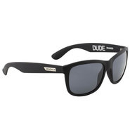 LUNETTES MUNDAKA DUDE BLACK MAT SMOKE POLARIZED DUD009PL