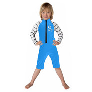 SHORTY LYCRA MYSTIC STAR RASH OVERALL ENFANT BLEU