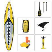 PACK SUP GONFLABLE NAISH ONE + PAGAIE MAKANI CARBON 3 PARTIES