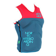 GILET NORTH KITE VEST SEAT ROUGE/PETROL 2015