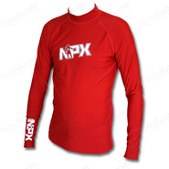LYCRA NPX RASHGUARDS M/L MEN 2012 ROUGE