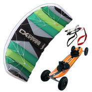 PACK CROSS KITES AIR + MOUNTAINBOARD ZEPH BITUME