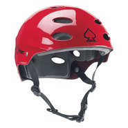 CASQUE PROTEC ACE WATER ROUGE GLOSS