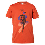 T-SHIRT QUIKSILVER ROADIE K3 ROUGE