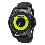 MONTRE QUIKSILVER THE RPM NOIR/LIME