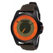 MONTRE QUIKSILVER THE RPM NOIR/ORANGE