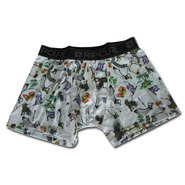 BOXER RIP CURL SMOKE AND DAGGERS GRIS