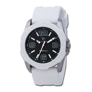 MONTRE RIP CURL TUBES BEZEL SURF WATCH BLANC