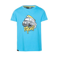 T-SHIRT RIP CURL FROTHED ENFANT SS BLEU