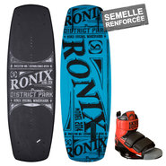 PACK WAKEBOARD RONIX DISTRICT PARK + LF DOMAIN 2014