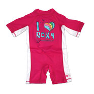 SHORTY LYCRA ROXY I LOVE RX GIRL ROSE