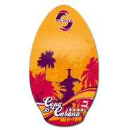 SKIM WOOD SLIDZ COPA CABANA 35 ORANGE