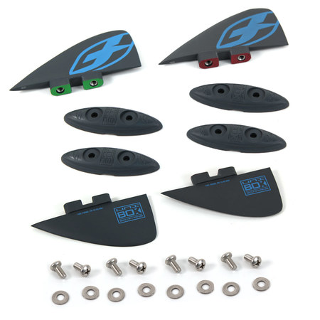 SET AILERONS F-ONE UNIBOX 2016