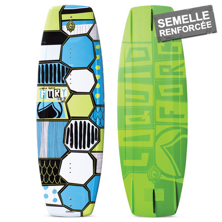 WAKEBOARD LIQUID FORCE FURY GRIND ENFANT 2016 125