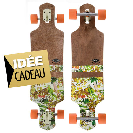 LONGBOARD SKATE GLOBE GEMINON 38.5 JUNGLE