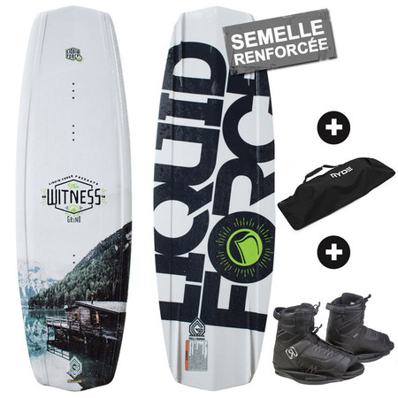 PACK WAKEBOARD LIQUID FORCE WITNESS GRIND + RONIX DIVIDE 2016 140