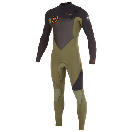 COMBINAISON QUIKSILVER SYNCRO GBS CHEST ZIP 4/3 2016 M