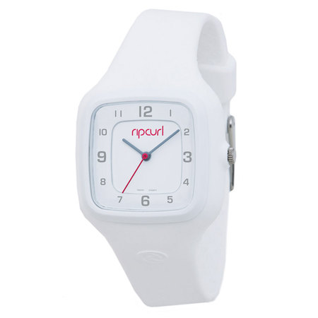 MONTRE RIP CURL COSMIC SILICONE SURF BLANCHE