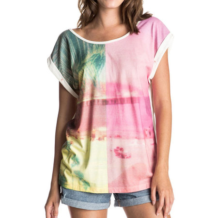 T-SHIRT ROXY PHOTOGENIC TWO WORLDS FEMME M