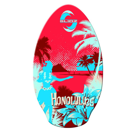 SKIM WOOD SLIDZ HONOLULU 35 ROUGE 35