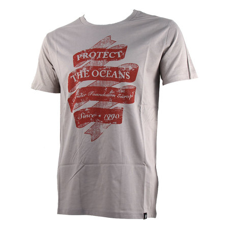 T-SHIRT SURFRIDER RETRO GRIS S