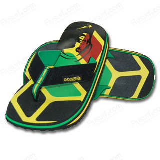 TONGS COOL SHOE ORIGINAL FLAG JAMAICA 39/40