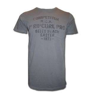 T-SHIRT RIP CURL BELLS ORIGINAL CHARCOAL S